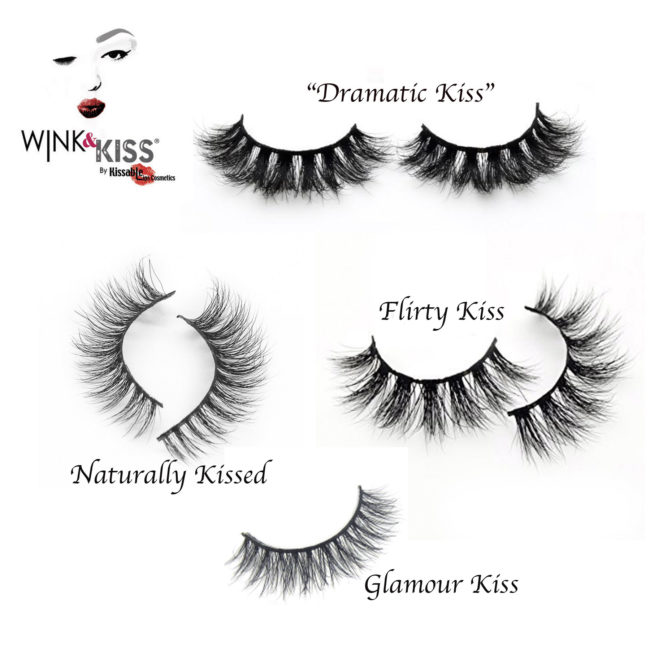 9ad4d7ac83c Wink & Kiss Mink Lashes (Faux Mink) Cruelty Free – Kissable Lips ...
